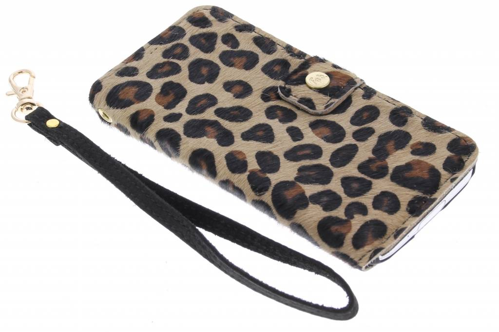 Fab. Funky Panther booktype hoes voor de Samsung Galaxy S5 Mini