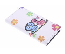 Design booktype hoes Huawei P8 Lite