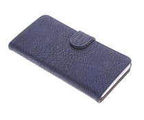 Donkerblauw vintage booktype hoes Honor 6 Plus