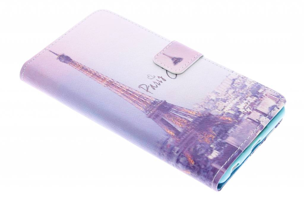 Parijs design TPU booktype hoes voor de Sony Xperia Z3 Plus