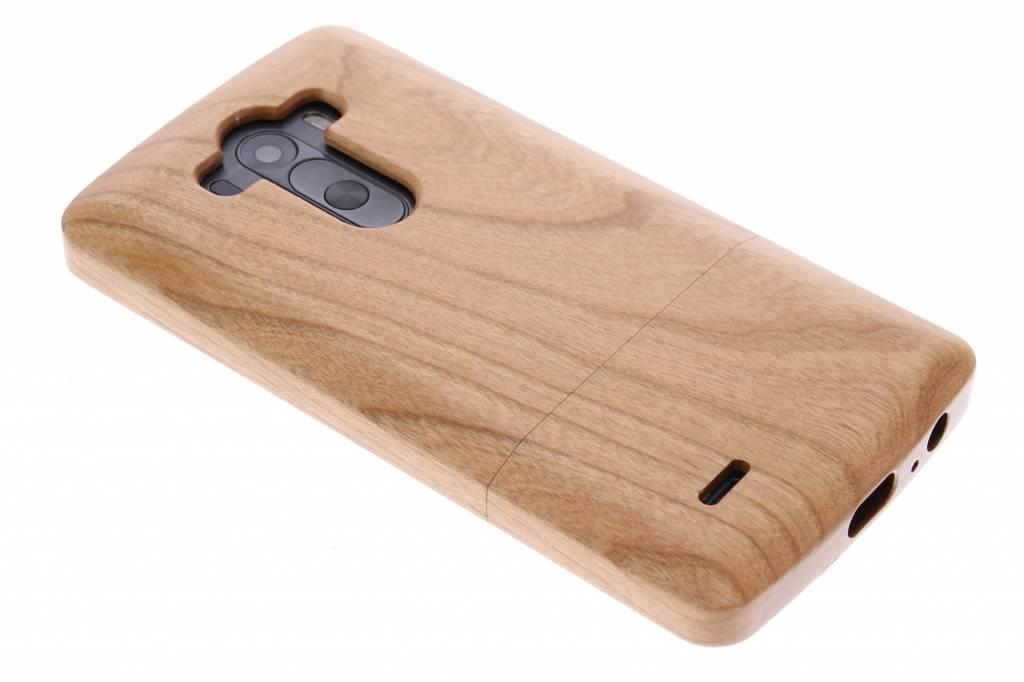 Echt houten hardcase hoesje voor de LG G3