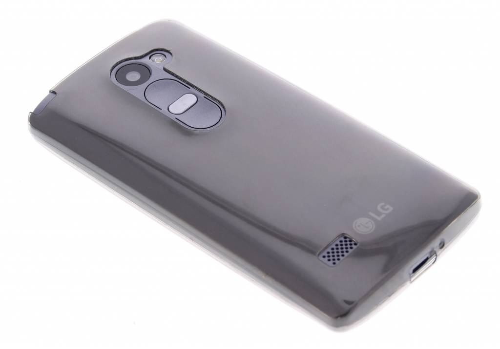 Grijs ultra thin transparant TPU hoesje voor de LG Leon