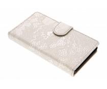 Goud glamour design booktype Xperia Z3 Compact
