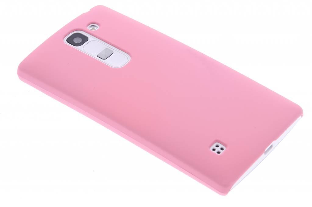 Roze effen hardcase hoesje voor de LG Spirit