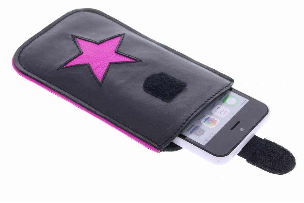 Pink Fluor Reversed Star voor de Samsung Galaxy A3 (2017) thumbnail