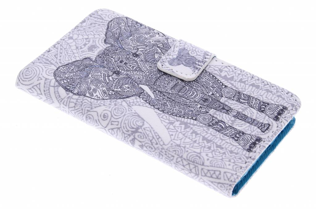 Olifant design TPU booktype hoes voor de Samsung Galaxy A3