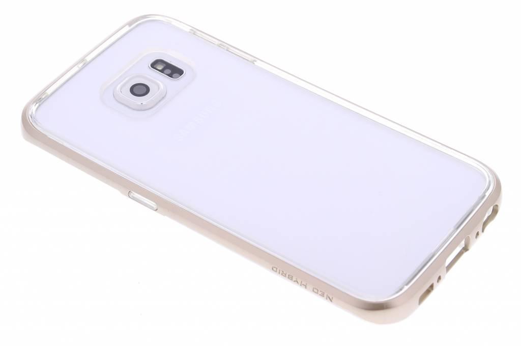 Spigen Neo Hybrid CC Case voor de Samsung Galaxy S6 Edge - Champagne Gold