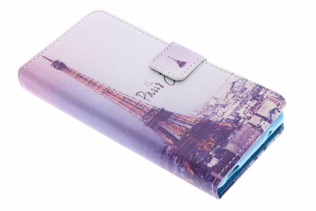 Eiffeltoren design TPU booktype hoes voor de Sony Xperia Z3 Compact