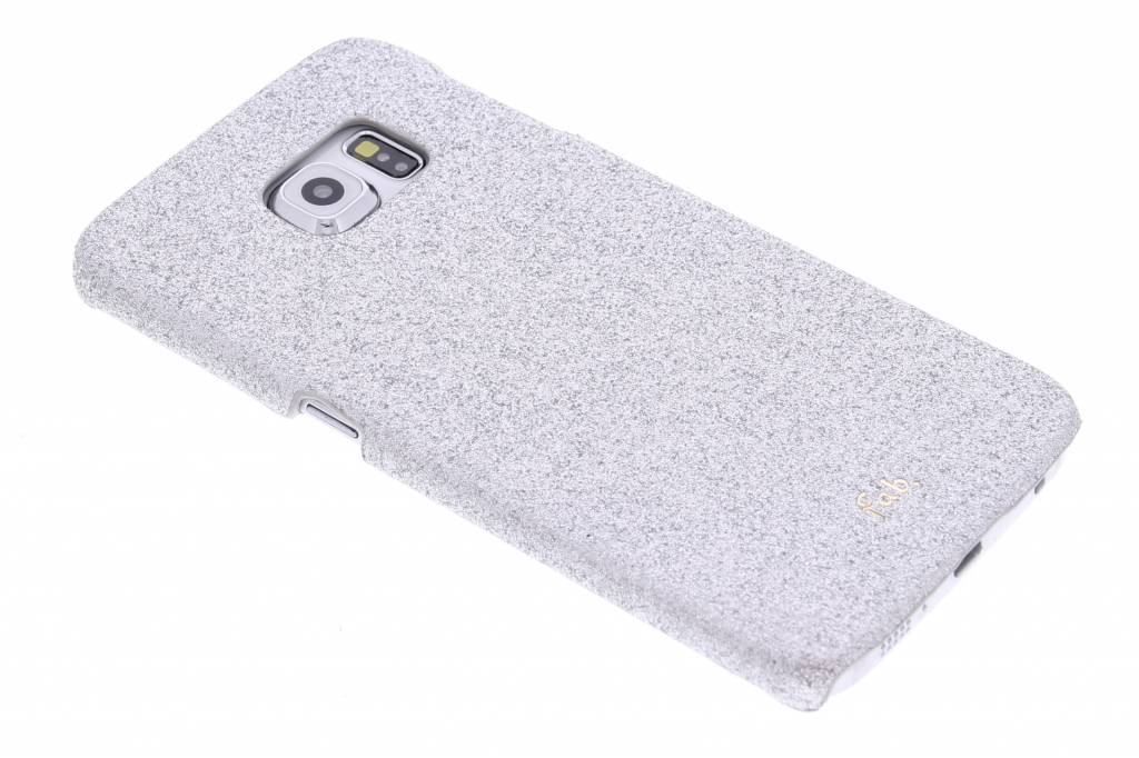 Fab. Rockstar hardcase hoesje voor de Samsung Galaxy S6 Edge - Silver