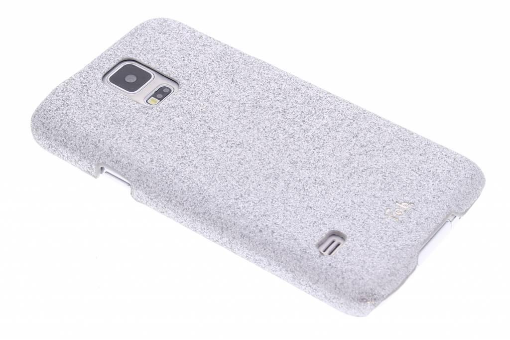 Fab. Rockstar hardcase hoesje voor de Samsung Galaxy S5 (Plus) / Neo - Silver