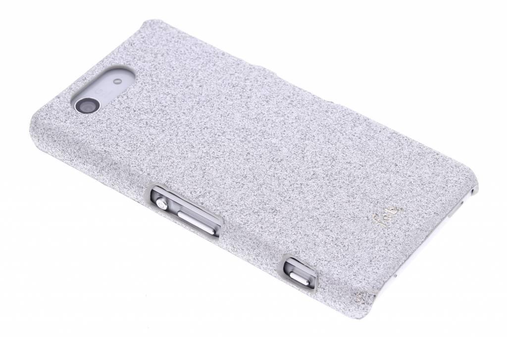 Fab. Rockstar hardcase hoesje voor de Sony Xperia Z3 Compact - Silver
