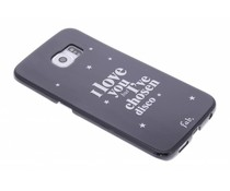 Fab. Disco Glitter hardcase hoesje Galaxy S6 Edge