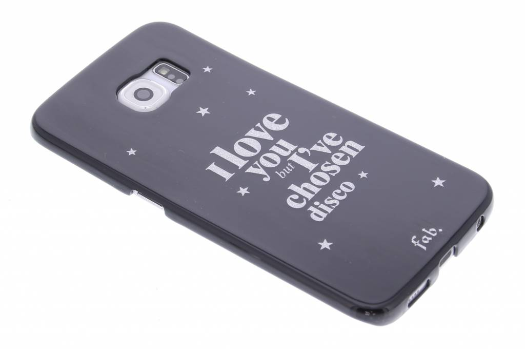 Fab. Disco Glitter hardcase hoesje voor de Samsung Galaxy S6 Edge