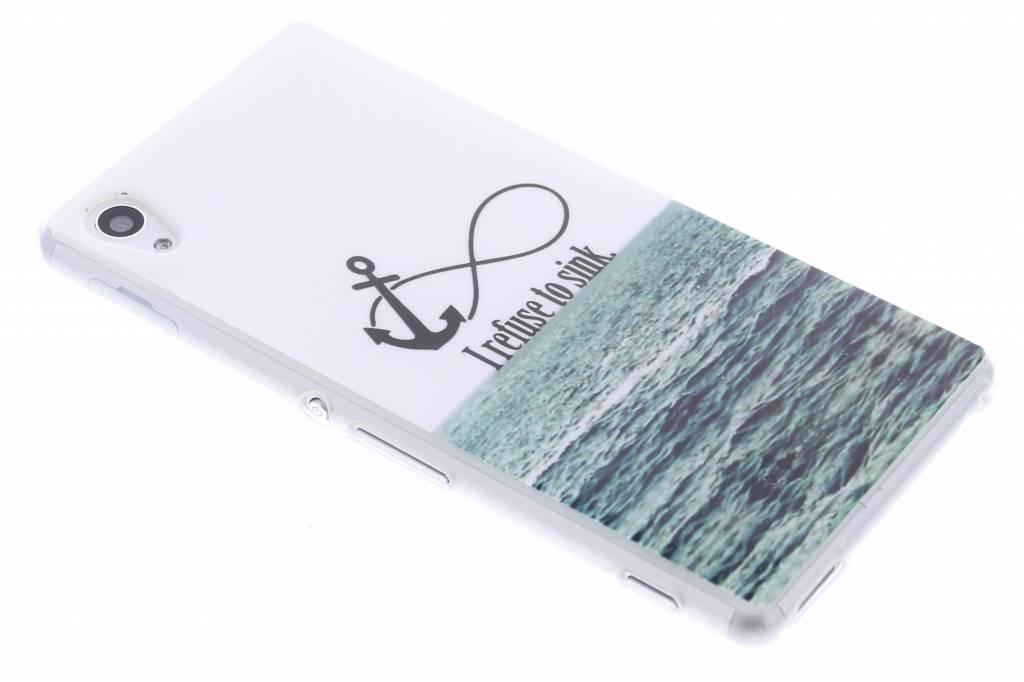 Anker design TPU siliconen hoesje voor de Sony Xperia M4 Aqua
