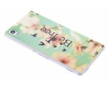 Design TPU siliconen hoesje Sony Xperia M4 Aqua
