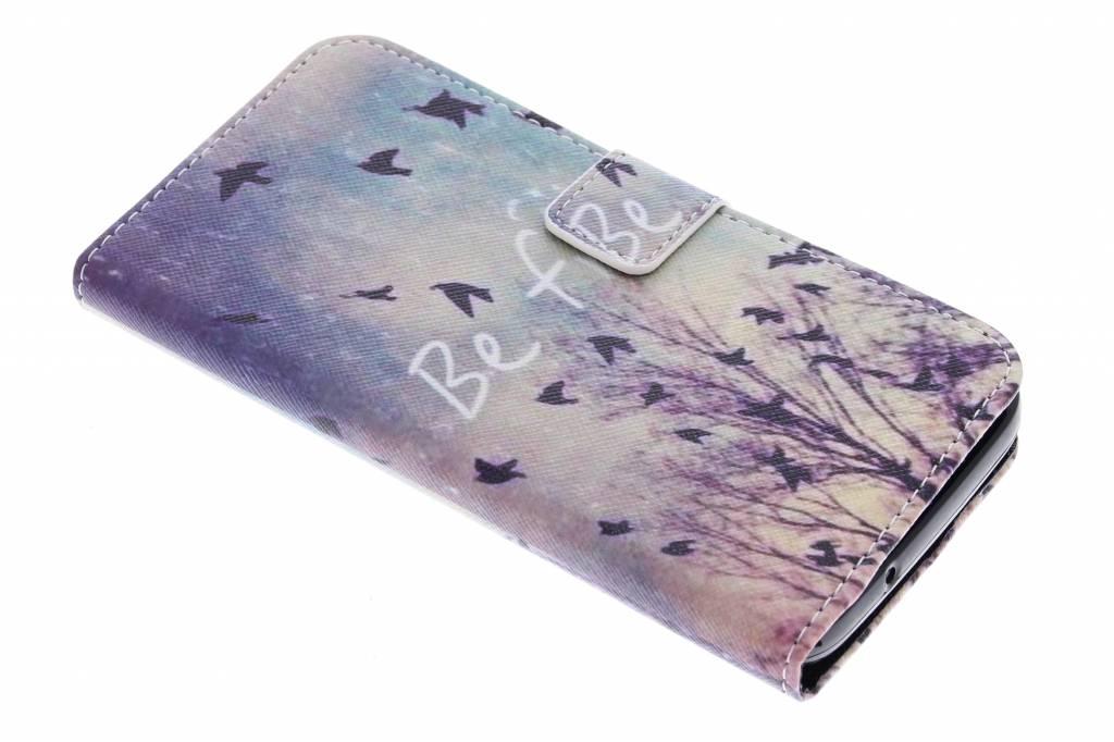 Be free design TPU booktype hoes voor de Huawei Y625