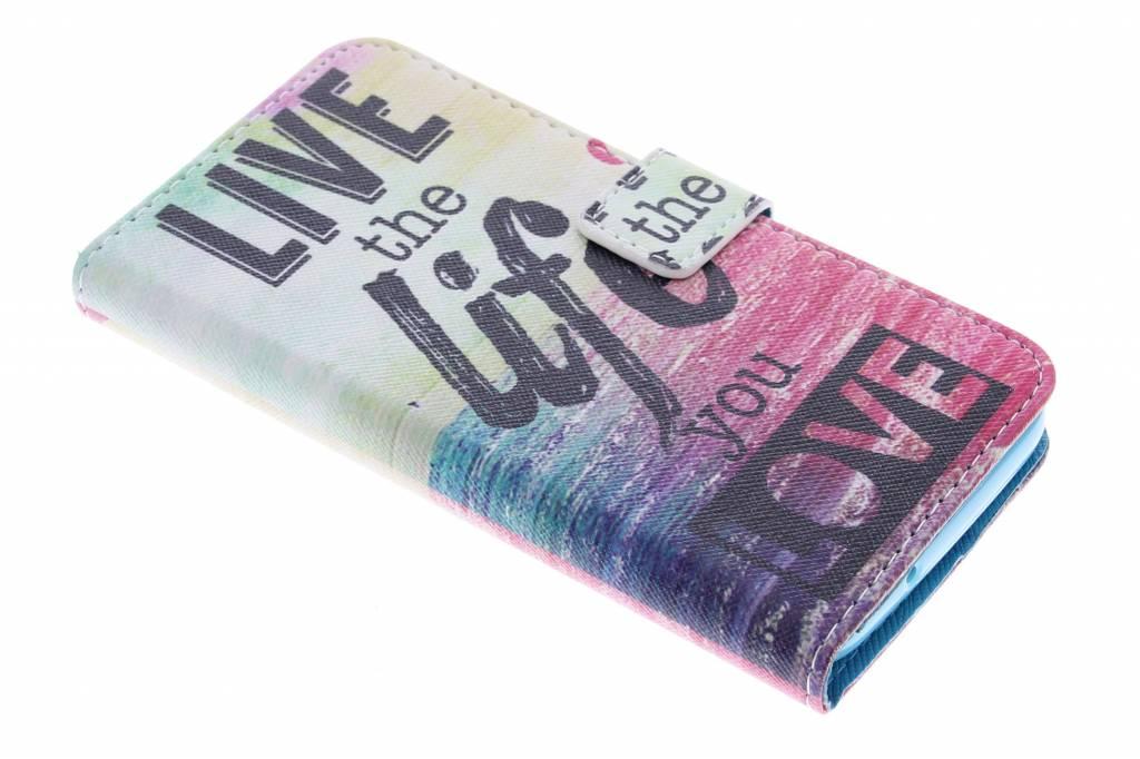 Life the life design TPU booktype hoes voor de Huawei Y625