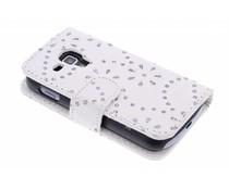 Bloemblad design booktype Galaxy S Duos / Trend (Plus)