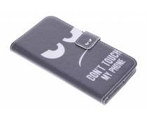 Design TPU booktype hoes Motorola Moto 3rd gen 2015