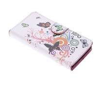 Design booktype hoes Sony Xperia M