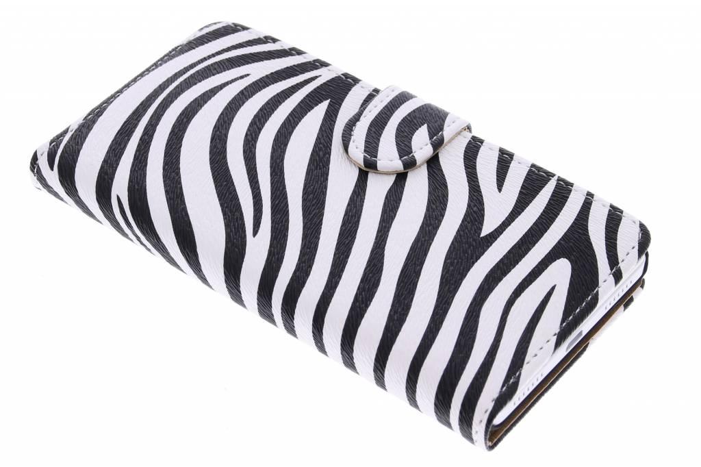 Zebra design booktype hoes voor de Honor 7