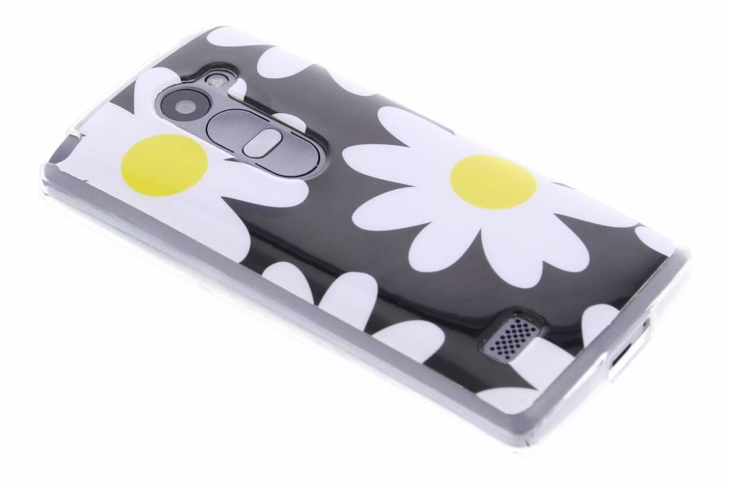 Bloemen design TPU siliconen hoesje voor de LG Leon