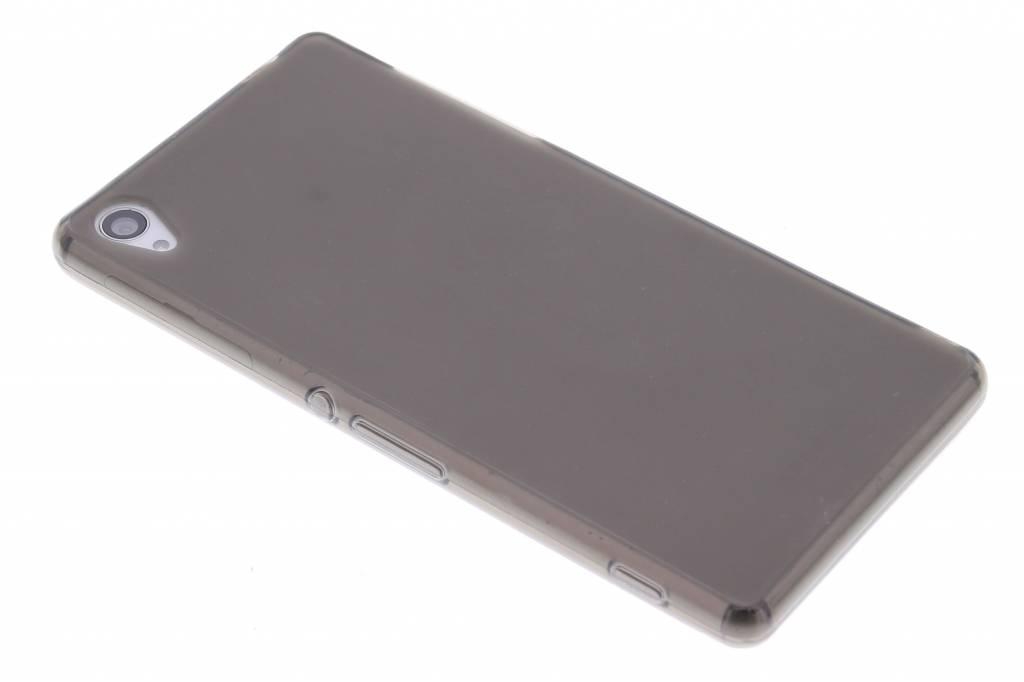 Grijs hard siliconen hoesje voor de Sony Xperia Z3