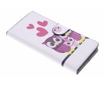 Design booktype hoes Sony Xperia M4 Aqua