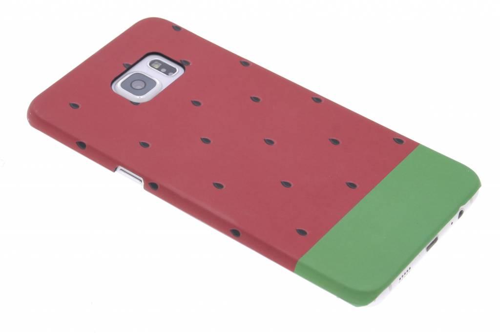 Watermeloen design hardcase hoesje voor de Samsung Galaxy S6 Edge Plus