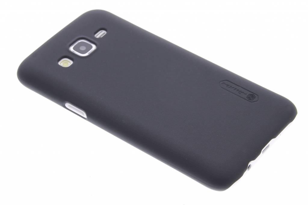 Frosted Shield hardcase hoesje voor de Samsung Galaxy J5 - Zwart
