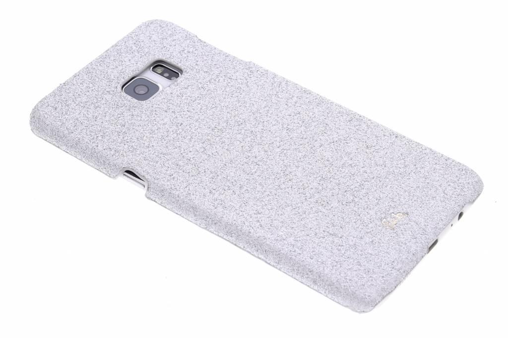 Fab. Rockstar hardcase hoesje voor de Samsung Galaxy S6 Edge Plus - Silver