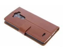Selencia Luxe lederen Booktype LG G3
