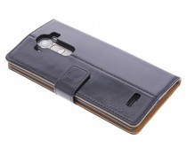 Selencia Luxe lederen Booktype LG G4