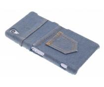 Denim jeans hardcase hoesje Sony Xperia Z2