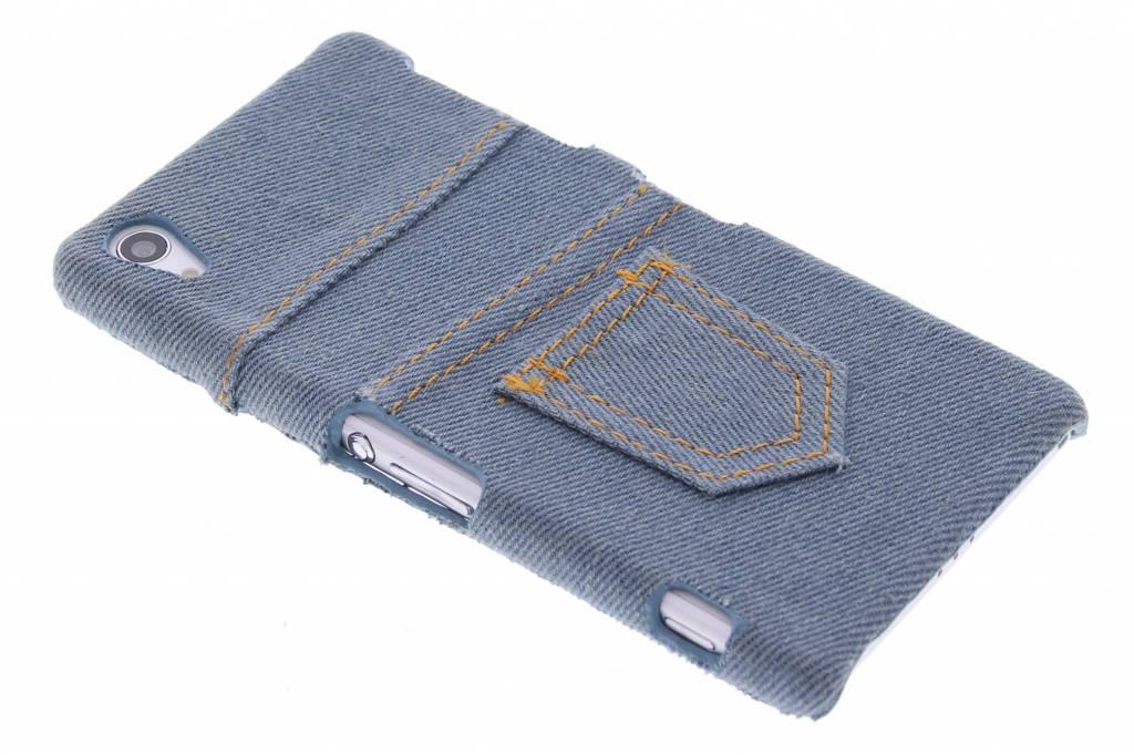 Denim jeans hardcase hoesje voor de Sony Xperia Z2