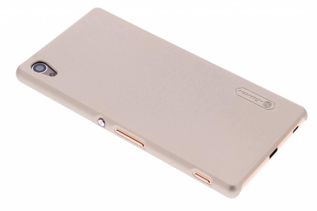 Nillkin Frosted Shield hardcase hoesje voor de Sony Xperia Z3 Plus - Goud