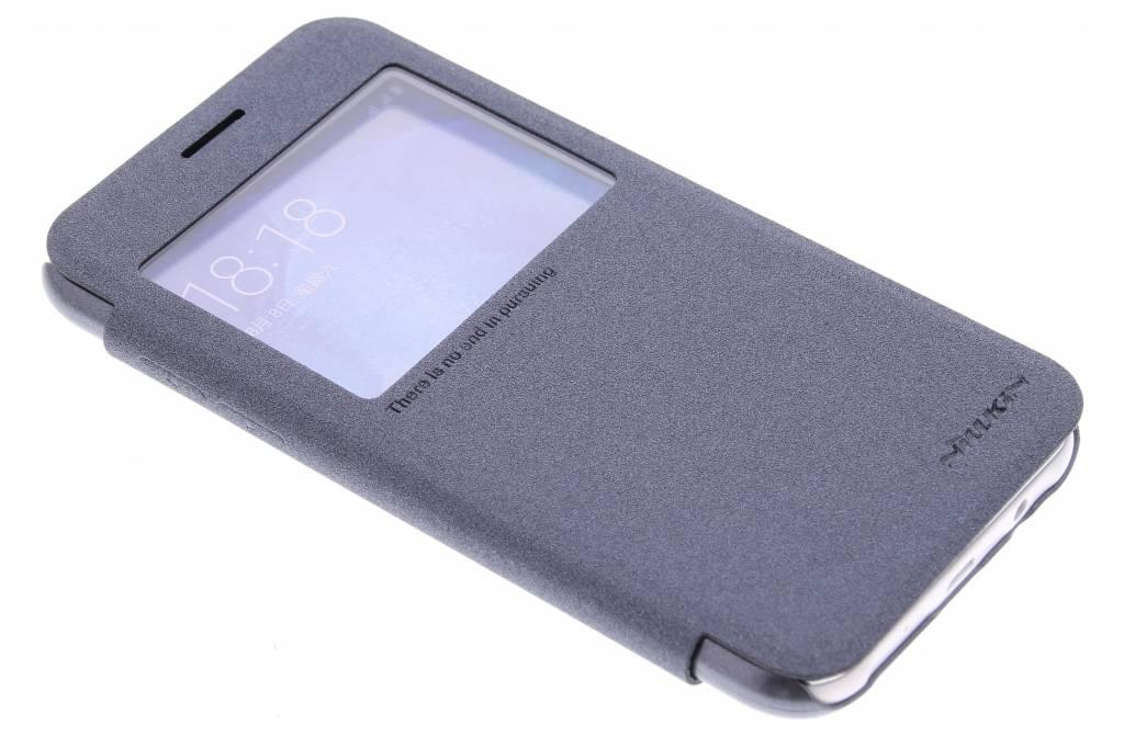 Nillkin Sparkle slim booktype hoes met venster voor de Samsung Galaxy J5 - Zwart