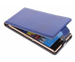 Selencia Luxe lederen Flipcase Sony Xperia Z3 Plus