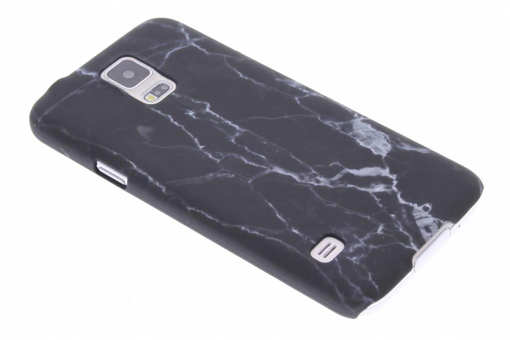 Regarder Marbre Noir Couverture Étui Rigide Pour Samsung Galaxy S8 ZZCtQ4