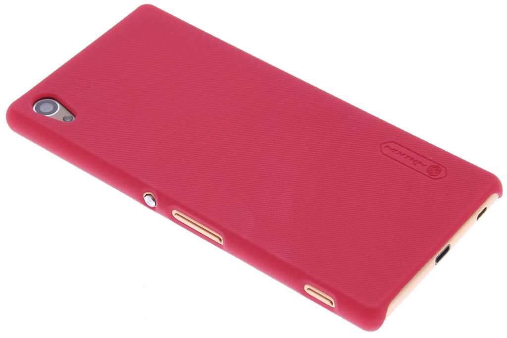 Nillkin Frosted Shield hardcase hoesje voor de Sony Xperia Z3 Plus - Rood
