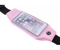 Roze sports pouch iPhone 6 / 6s