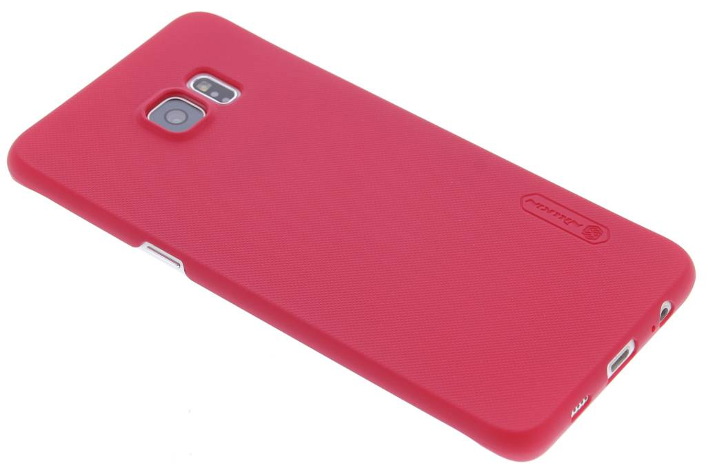 Nillkin Frosted Shield hardcase voor de Samsung Galaxy S6 Edge Plus - Rood