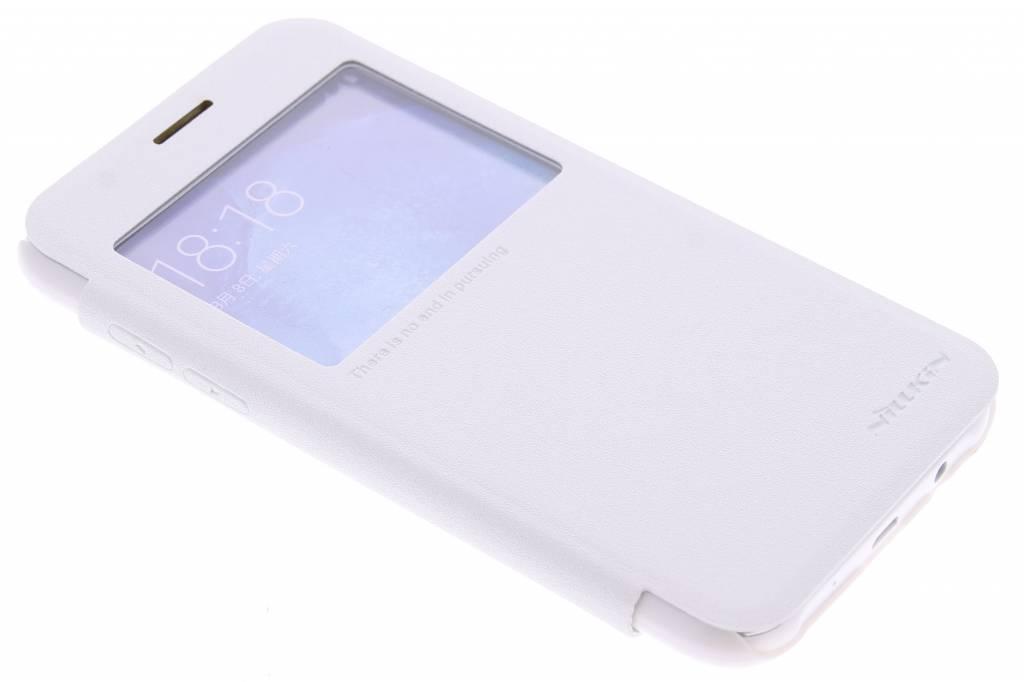 Nillkin Sparkle slim booktype hoes met venster voor de Samsung Galaxy J5 - Wit