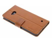 Selencia Luxe lederen Booktype Microsoft Lumia 640