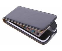 Selencia Luxe lederen Flipcase iPhone 5c - Zwart