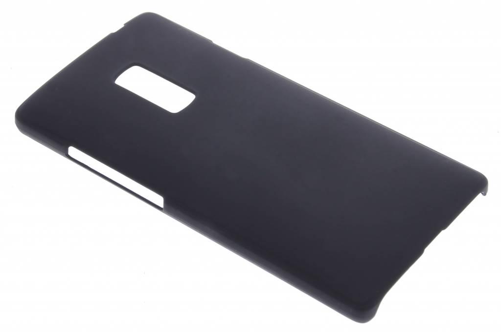 Zwart effen hardcase hoesje voor de OnePlus 2