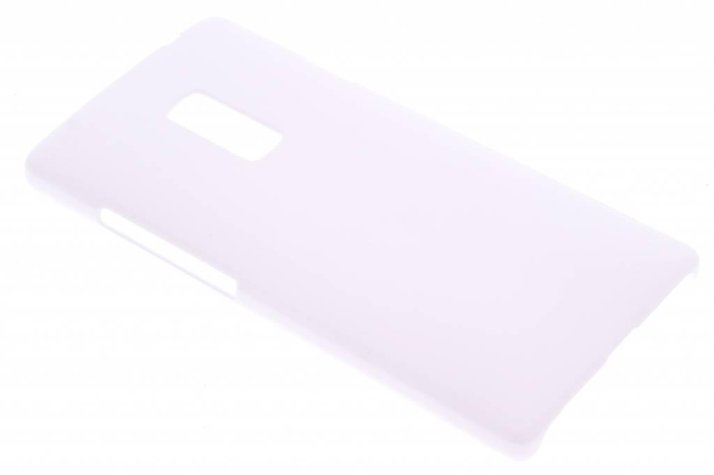 Wit effen hardcase hoesje voor de OnePlus 2