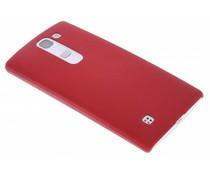 Rood effen hardcase hoesje LG Magna / G4c