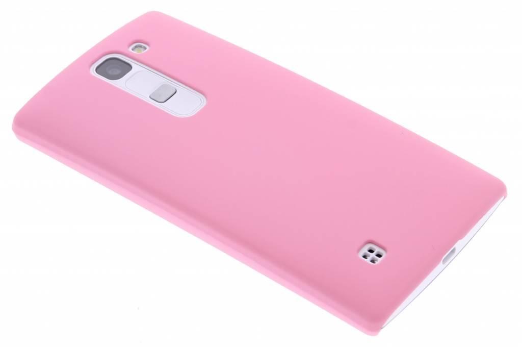 Roze effen hardcase hoesje voor de LG Magna / G4c