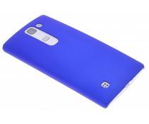 Blauw effen hardcase hoesje LG Magna / G4c